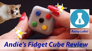 Andie's Fidget Cube Review by Antsy Labs