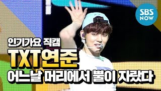 [인기가요] TXT (TOMORROW X TOGETHER) 연준 직캠 / SBS INKIGAYO 'TXT Yeonjun' FanCam
