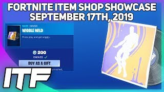 Fortnite Item Shop *NEW* WIGGLE WILD MUSIC! [September 17th, 2019] (Fortnite Battle Royale)