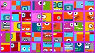 Big Block Sing Song Puzzle Games for Kids Flat-Puzzles