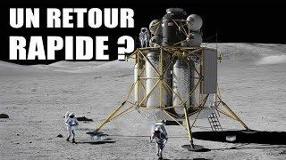 La NASA veut accélérer son retour sur la Lune ! DNDE 95