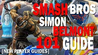Getting Started with Simon Belmont in Super Smash Bros Ultimate [101 Guide]