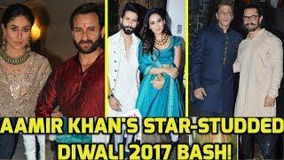 Deepika, Shahurkh, Kareena, Shahid & Other Stars At Aamir Khan Diwali Party 2017