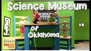 SCIENCE MUSEUM OF OKLAHOMA | What to do in Oklahoma City | Hutch House Family Vlog