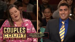 Woman Finds Husband's Receipt For ″Ribbed″ Items They've Never Used (Full Episode) | Couples Court