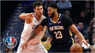 Anthony Davis drops 46 and 16 on Clippers in Pelicans' win | NBA Highlights
