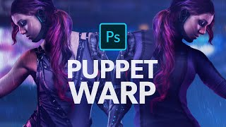 The POWER of Puppet Warping in Photoshop