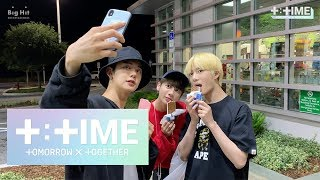 [T:TIME] YEONJUN's treat for members, Yummy ice cream! - TXT(투모로우바이투게더)