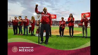 Inauguración del estadio de los #DiablosRojos del México, Alfredo Harp Helú