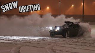 Lifted Miata Snow Drifting Session