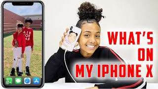 What's On My iPhone X | LexiVee03