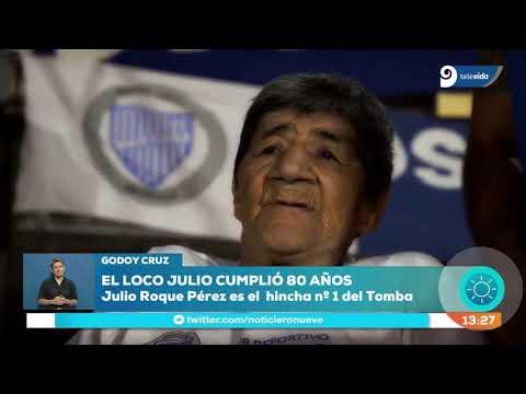 Godoy Cruz festejó el cumpleaños de su hincha más icónico