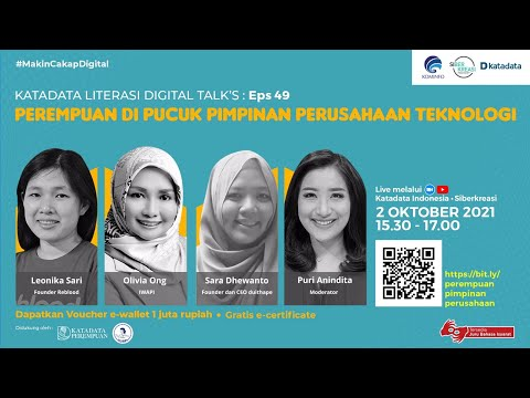 Perempuan di Pucuk Pimpinan Perusahaan Teknologi
