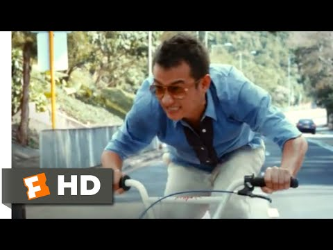 Badges of Fury (2014) - Bicycle Cop Scene (7/10) | Movieclips