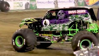 Grave Digger Nashville 2018 | Monster Jam FULL FREESTYLE