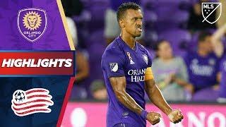 Orlando City SC vs. New England Revolution | Nani with a Golazo! | HIGHLIGHTS