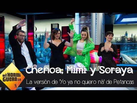 Petancas y su versión de 'Yo ya no quiero ná' de Mimi - El Hormiguero 3.0