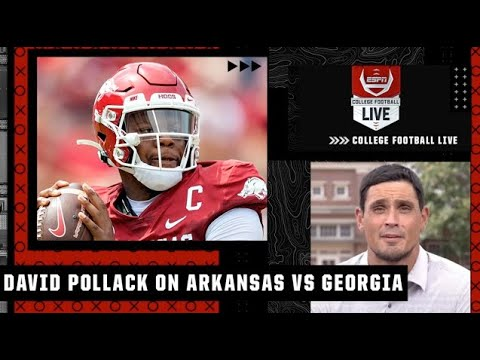 Arkansas' passing game has to be on point to pull an upset over Georgia - David Pollack | CFB Live