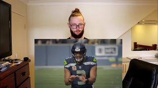Rugby Player Reacts to RUSSELL WILSON Seattle Seahawks QB ″The Film Room with Brett Kollmann″