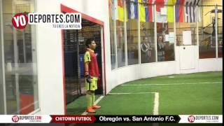 Obregon vs San Antonio FC Chitown Futbol