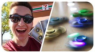 BEST 7-ELEVEN LED FIDGET SPINNERS! (CRAZY UNBOXING) (Hand Spinners)
