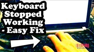 Keyboard Stopped Working Windows 8, 10 - Filter Keys