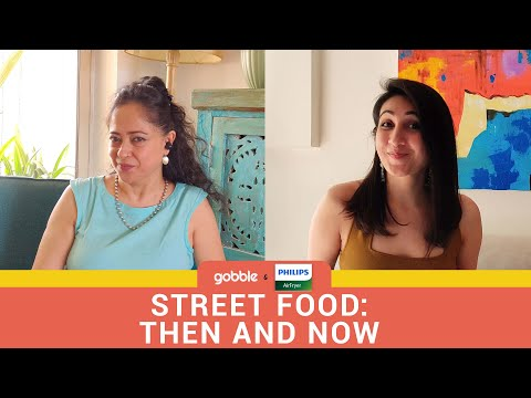 Gobble | Food Aaj Kal | Street Food Challenge | Samosa | Bread Roll | Ft. Kriti Vij, Sheeba Chadha
