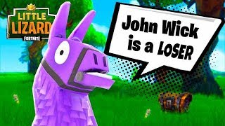 If Llamas COULD SPEAK!
