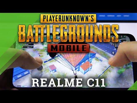 PubG on REALME C11 – Gameplay