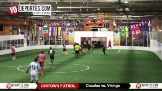 Coculas vs. Vikings Semifinal Thursday Night Chitown Futbol League