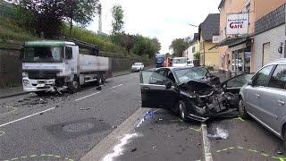 Tödlicher Verkehrsunfall auf der B9 in Remagen