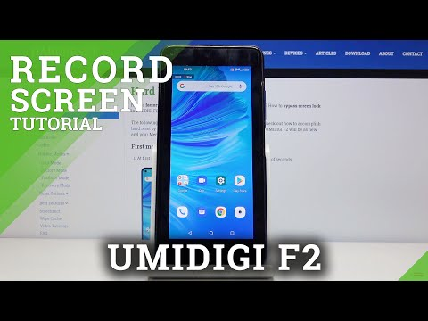 How to Record Screen in UMIDIGI F2 – Activate Screen Recorder
