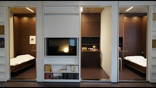Reconfigurable apartment allows residents to transform their living spaces
