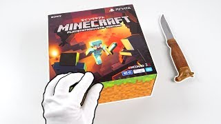 PlayStation Vita ″MINECRAFT″ Console Unboxing! (PS Vita Special Edition)
