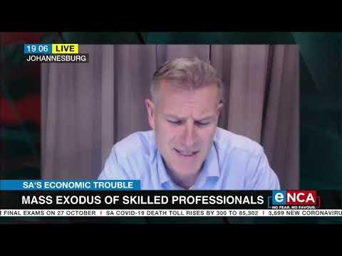 SA's economic trouble | Factors contributing to skills emigration
