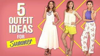 5 Outfit Ideas for Summer | Fashion | Pinkvilla | Summer Fashion