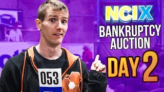 NCIX Bankruptcy Auction - Day 2 FINALE