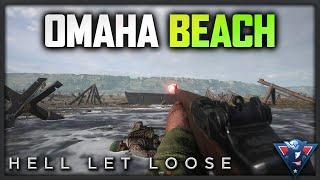 OMAHA BEACH!   Hell Let Loose Gameplay