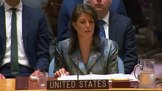 Haley to Abbas: US 'ready to talk, but we will not chase after you'