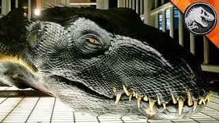 Jurassic World: Dinosaurs Rule Again - Unseen !