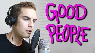 Good people don't brag about how good they are