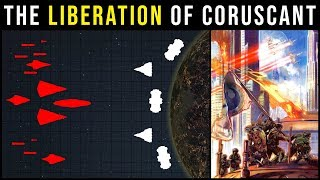 How Rogue Squadron won the BATTLE OF CORUSCANT | Star Wars Battle Breakdown