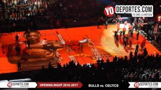 Chicago Bulls new intro Opening Night 2016-2017 Season
