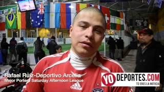 Rafael Ruiz mejor portero en Saturday Afternoon League de Chitown