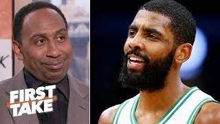 Stephen A. hints that Kyrie Irving might join the Lakers in free agency | First Take