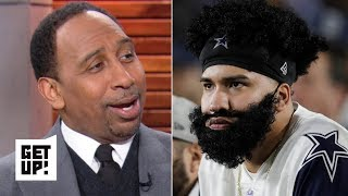 Stephen A. rejoices in the Cowboys' playoff loss to the Rams   Get Up!