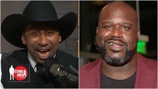 Shaq prank calls Stephen A. as Cowboys fan 'Tex Johnson'   Stephen A. Show