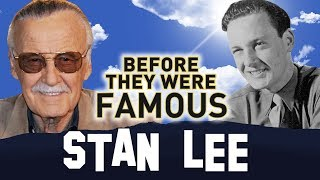 STAN LEE   Before They Were Famous   MARVEL