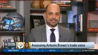 Assessing Antonio Brown's trade value | NFL Total Access