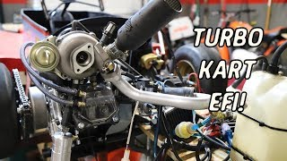 Turbo Go Kart Finally Gets Electronic Fuel Injection!